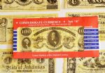 Confederate Replica Currency Set A